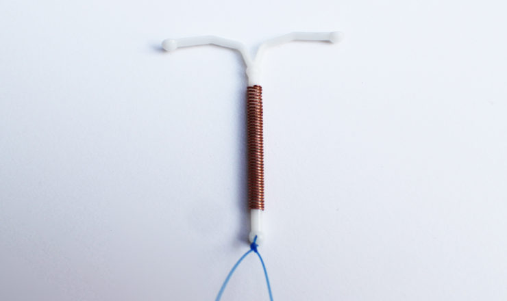 Copper IUD Photo