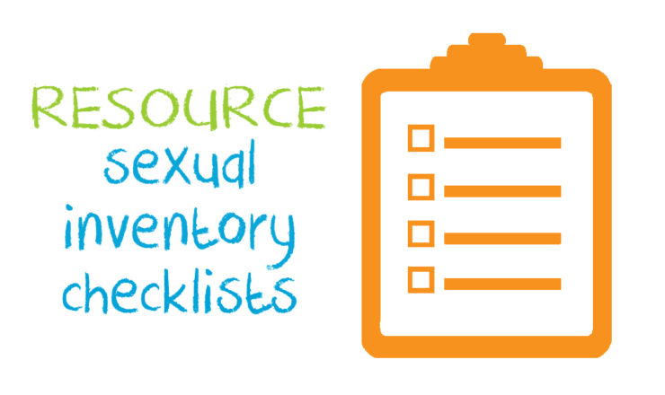 Sexual Inventory Checklist
