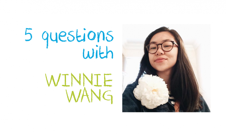 Title image for 5 Q&As with Winnie Wang